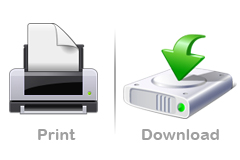 How to print or download an issue
