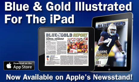 Introducing: The Blue & Gold Illustrated App for iPad!