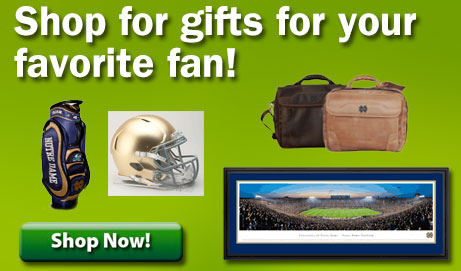 Great gifts for your Notre Dame fan!
