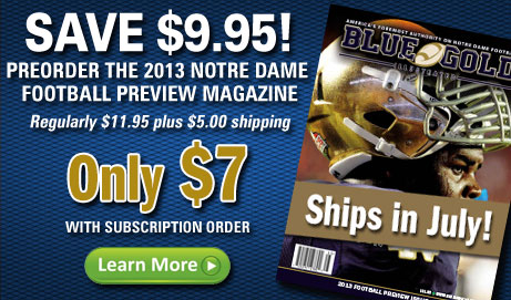 2013 Notre Dame Football Preview Magazine