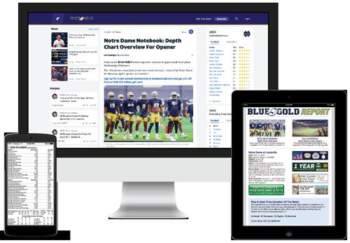 Notre Dame Football Newsletter